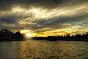Langan Park Sunset