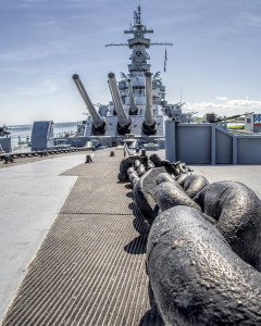 Anchor and Chain USS Alabama