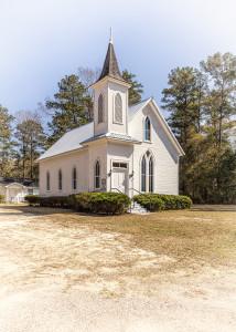 Historical Church at Stockton