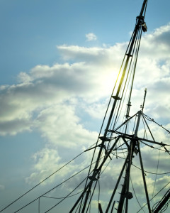 Mast of the Morning Star